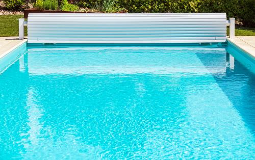 Bâche à barre pour piscine